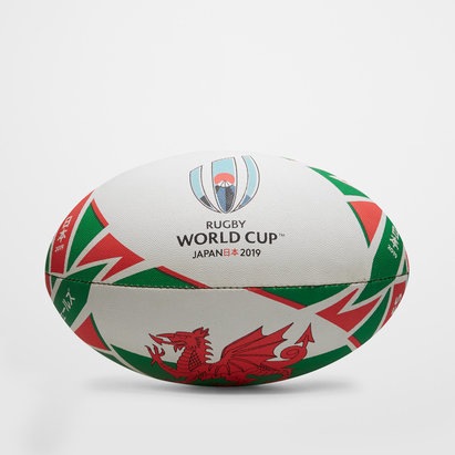 Gilbert RWC 2019 Wales Official Replica Rugby Ball