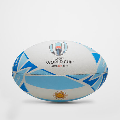 Gilbert RWC 2019 Argentina Official Replica Ball