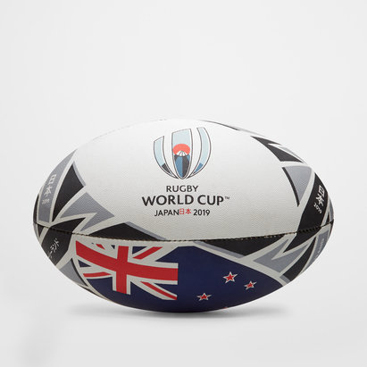 Gilbert RWC 2019 New Zealand Official Replica Rugby Ball