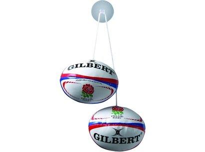 Gilbert International Window Dangle Rugby Balls