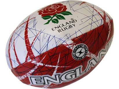 Gilbert England Memento Sponge Rugby Ball