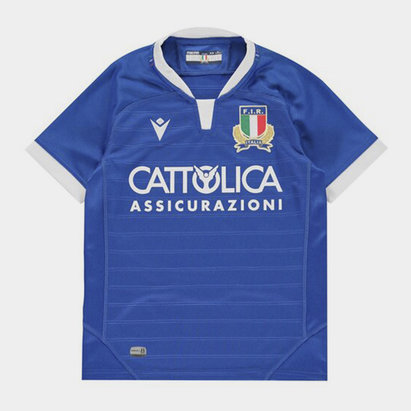 Macron Italy 20/21 Home Jersey Kids