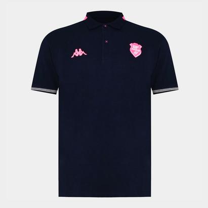 Kappa Stade Francais Polo Shirt Mens