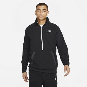 Nike Sportswear Mens Modern  half  Zip Fleece Top