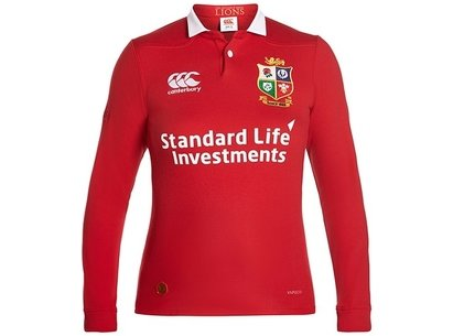 635e46d2b45 Canterbury British and Irish Lions Womens Classic Long Sleeve Rugby Shirt