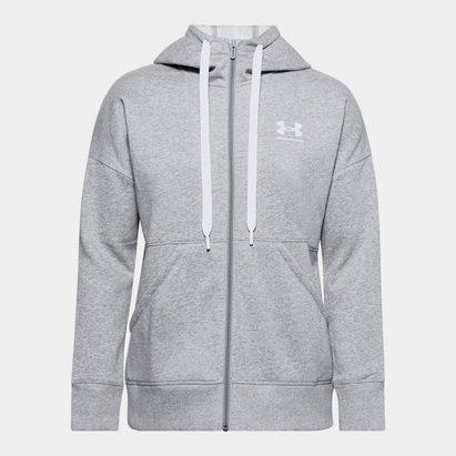 Under Armour Armour Rival Full Zip Hoodie Mens