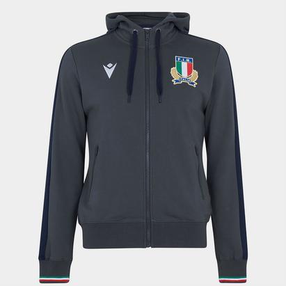 Macron Italy 21/22 Full Zip Hoodie Mens