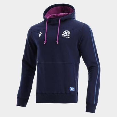 Macron Scotland Rugby Hoodie Mens