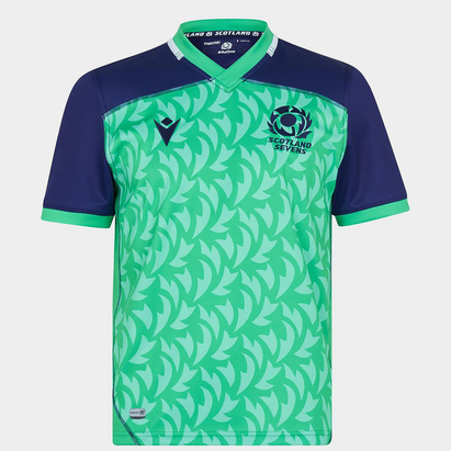 Macron Scotland Alternate 7s Rugby Shirt 2021 2022