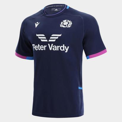 Macron Scotland Home Rugby Shirt 2021 2022