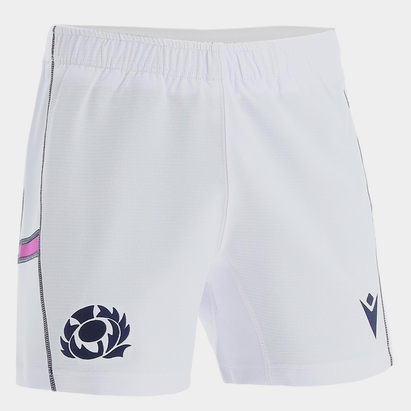 Macron Scotland Home Rugby Shorts 2021 2022 Junior