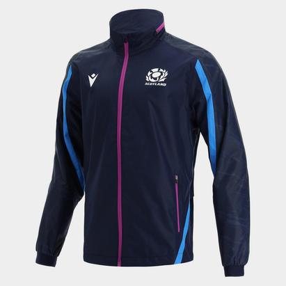 Macron Scotland Full Zip Waterproof Jacket Mens