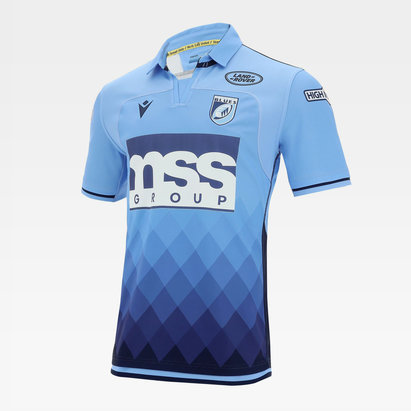Macron Cardiff Blues 20/21 Home Shirt Mens