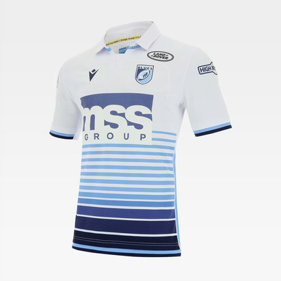 Macron Cardiff Blues 20/21 Alternate Shirt Mens