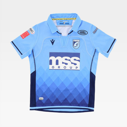 Macron Cardiff Blues 20/21 Home Shirt Kids