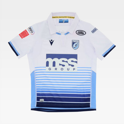 Macron Cardiff Blues 20/21 Alternate Shirt Kids