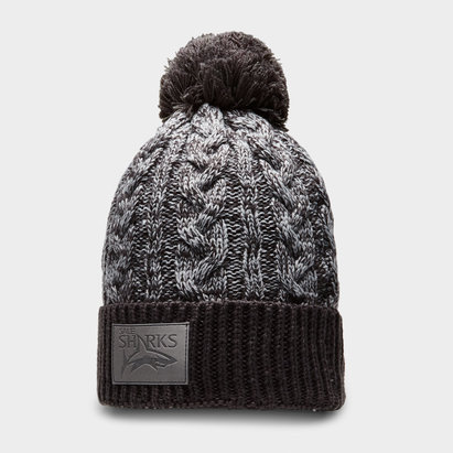 Samurai Sale Sharks 2018/19 Rugby Bobble Hat