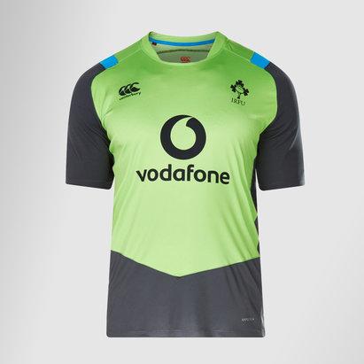 Canterbury Ireland IRFU 2017/18 Superlight Poly Rugby Training T-Shirt