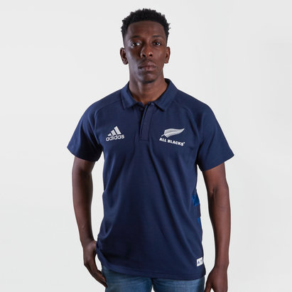 adidas New Zealand All Blacks 2019/20 Parley Polo Shirt