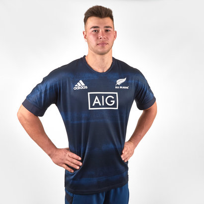adidas New Zealand All Blacks 2019/20 Parley Rugby Training Shirt