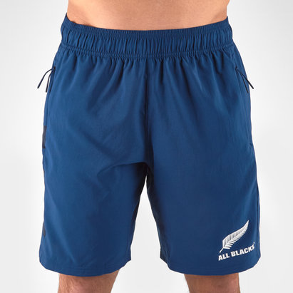 2c45dc325a0 adidas New Zealand All Blacks 2019/20 Parley Players Woven Training Shorts