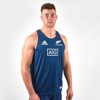 adidas New Zealand All Blacks 2019/20 Parley Rugby Training Singlet
