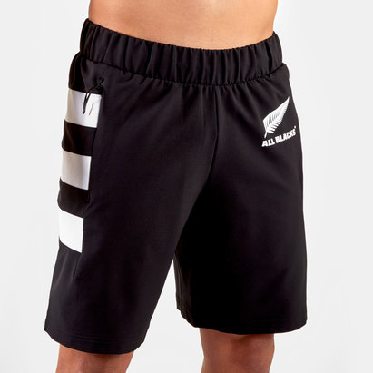 adidas New Zealand All Blacks 2019/20 Woven Shorts Mens