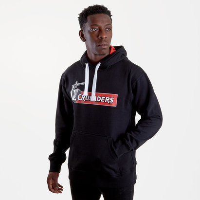 Brandco Crusaders 2019 Graphic Super Rugby Hooded Sweat