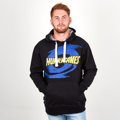 Brandco Hurricanes 2018 Graphic Super Rugby Hooded Sweat