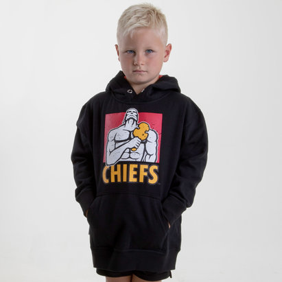 Brandco Chiefs 2019 Kids Graphic Super Rugby Hooded Sweat