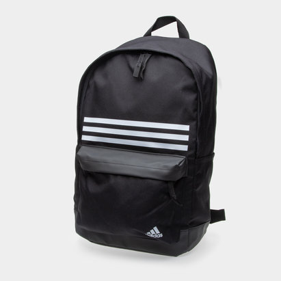 adidas Classic 3 Stripe Pocket Back Pack