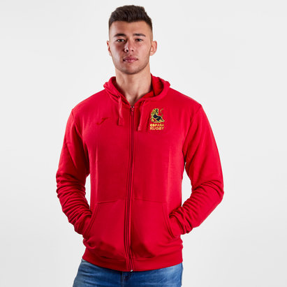 Joma Spain 2018/19 Players Hooded Rugby Sweat
