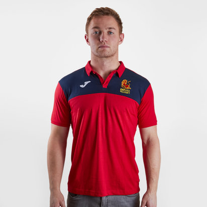 Joma Spain 2018/19 Players Rugby Polo Shirt