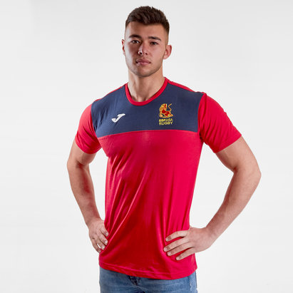 Joma Spain 2018/19 Players Rugby Training T-Shirt