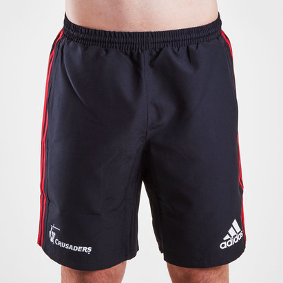 adidas Crusaders 2019 Super Rugby Woven Training Shorts