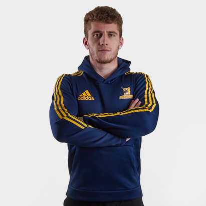 adidas Highlanders 2019 Hooded Rugby Sweat
