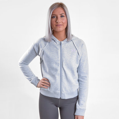 Under Armour Rival Ladies Fleece Full Zip Hooded Sweat