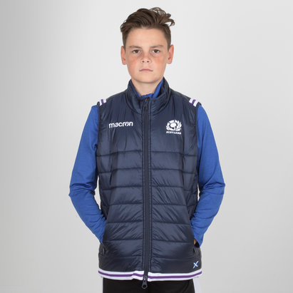 Macron Scotland 2017/18 Kids Padded Rugby Gilet