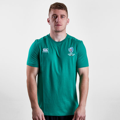 Canterbury RWC 2019 Logo Cotton S/S Rugby T-Shirt