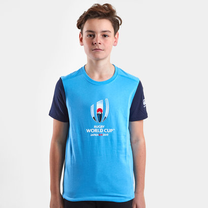 Canterbury RWC 2019 Cotton Graphic Kids S/S T-Shirt