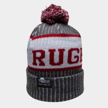 Samurai Army Rugby Union Knitted Bobble Hat
