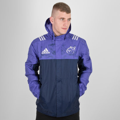 adidas Munster Players All Weather Rugby Jacket