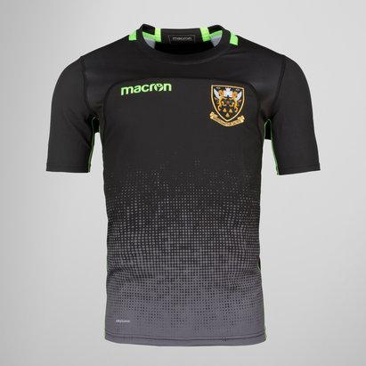 Macron Northampton Saints 2017/18 Kids S/S Rugby Training Shirt