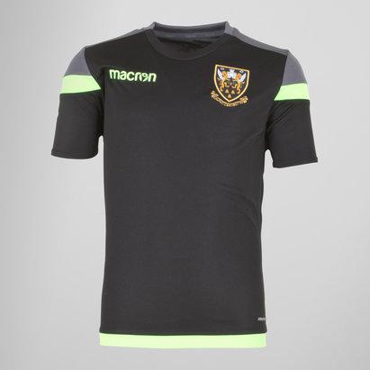 Macron Northampton Saints 2017/18 Kids Poly Rugby Training T-Shirt
