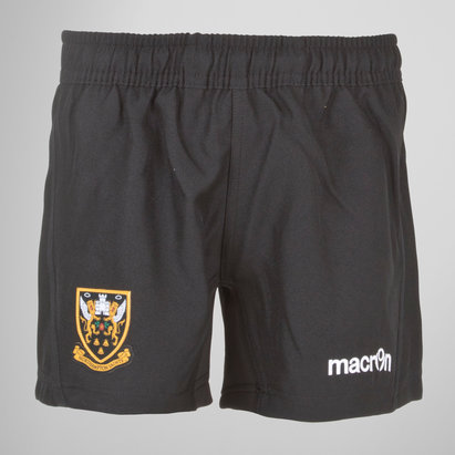 Macron Northampton Saints 2017/18 Kids Rugby Training Shorts
