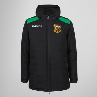 Macron Northampton Saints 2017/18 Kids Travel Rugby Jacket
