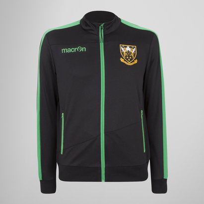 Macron Northampton Saints 2017/18 Kids Rugby Track Jacket