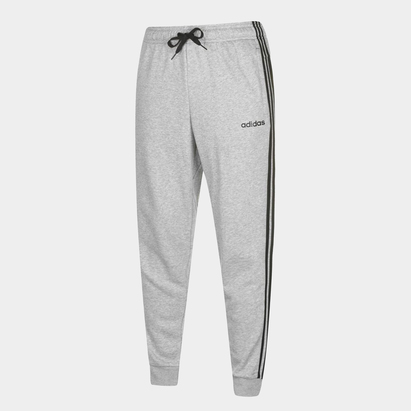 adidas Essential 3 Stripe French Terry Training Pants