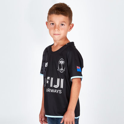 ISC Fiji 2018/19 Kids Alternate S/S Replica Rugby Shirt
