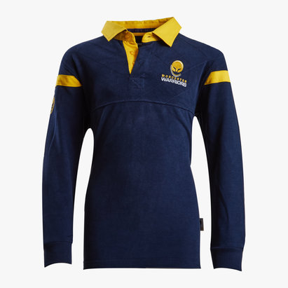Under Armour Worcester Warriors 16/17 Home Kids Cotton Rugby Shirt